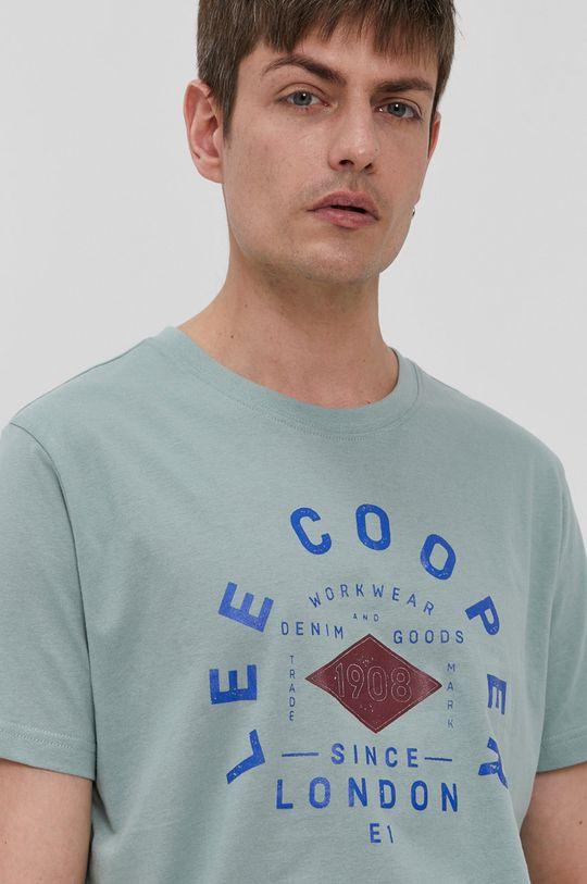 zielony Lee Cooper - T-shirt