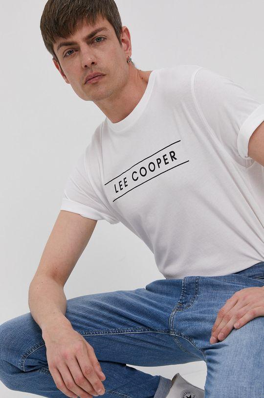 biela Lee Cooper - Tričko Pánsky