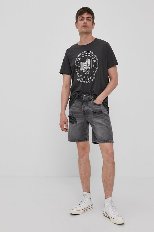 Lee Cooper - T-shirt grafitowy