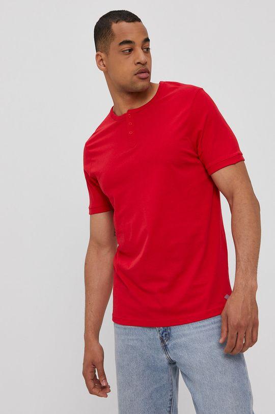 piros Lee Cooper - T-shirt Férfi