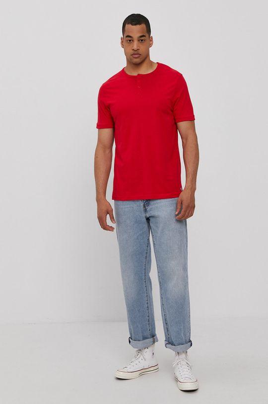 Lee Cooper - T-shirt piros