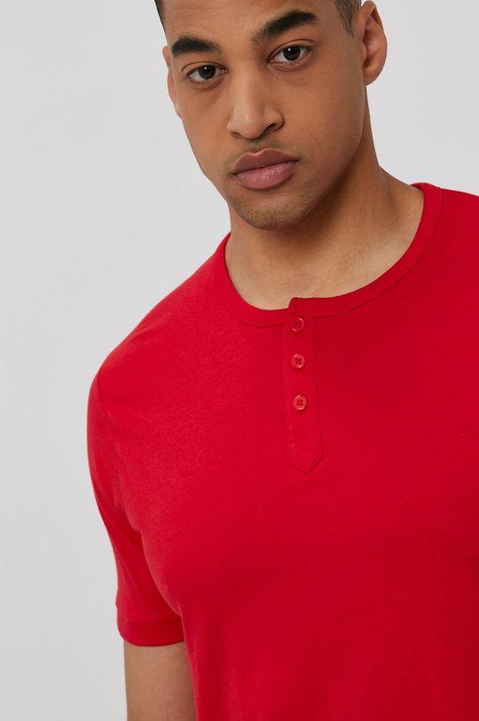 piros Lee Cooper - T-shirt