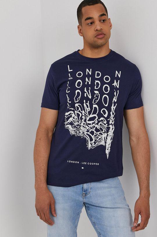 sötétkék Lee Cooper - T-shirt Férfi