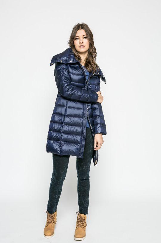 Trussardi Jeans - Пухено яке тъмносин