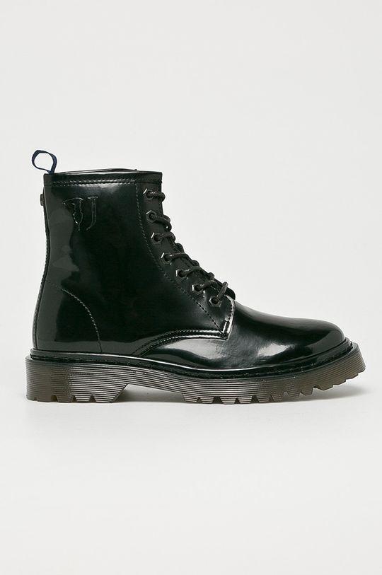 černá Trussardi Jeans - Nízké kozačky Dámský