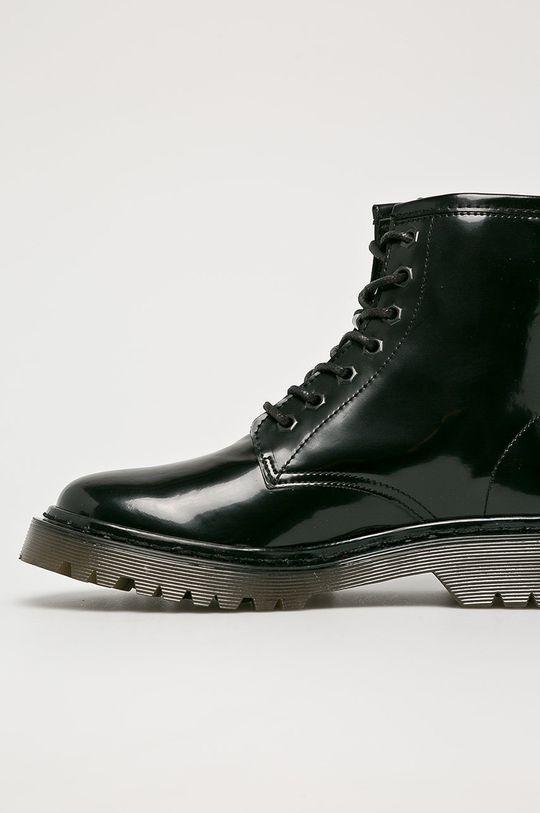 černá Trussardi Jeans - Nízké kozačky