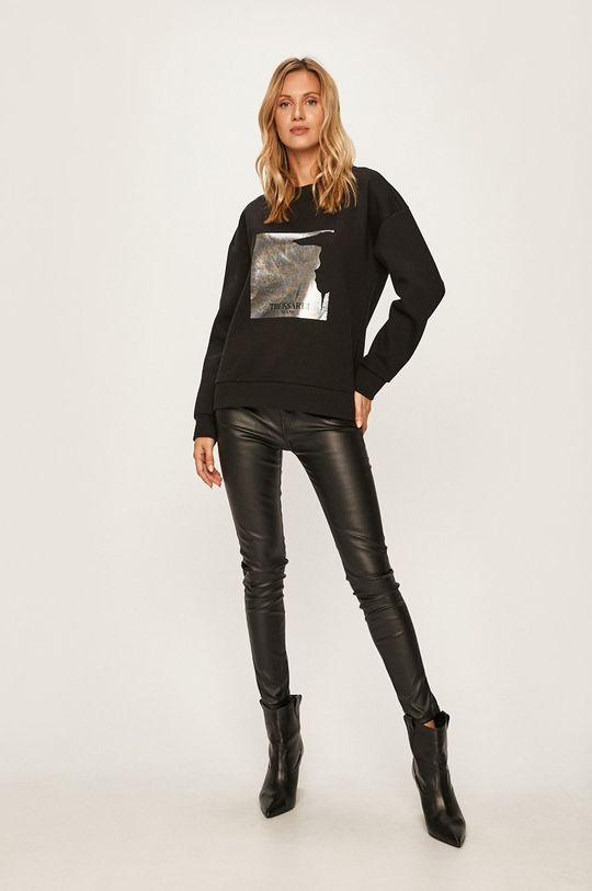 Trussardi Jeans - Mikina černá