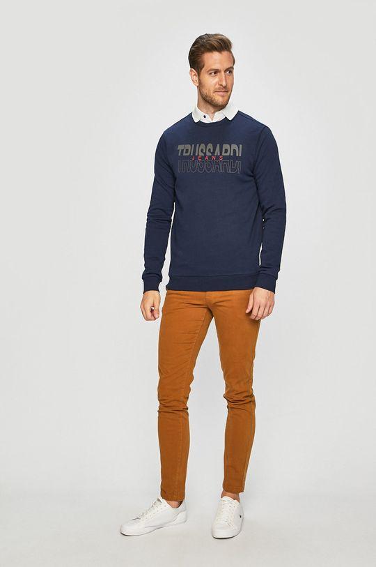 Trussardi Jeans - Mikina námořnická modř