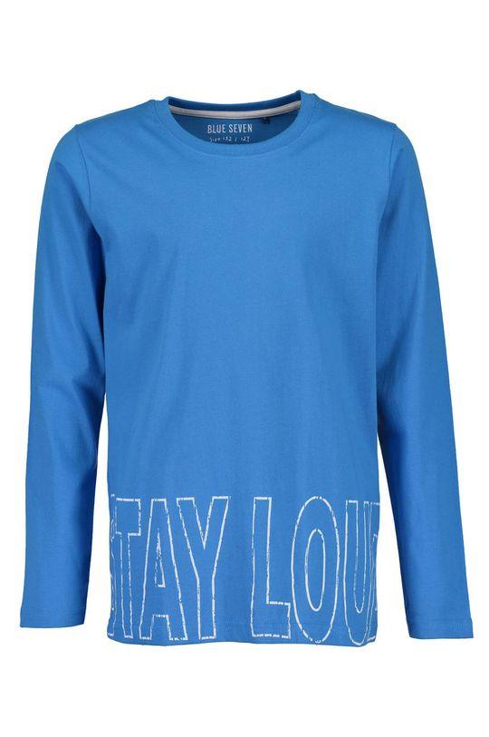 modrá Blue Seven - Detské tričko s dlhým rukávom 140-176 cm Chlapčenský