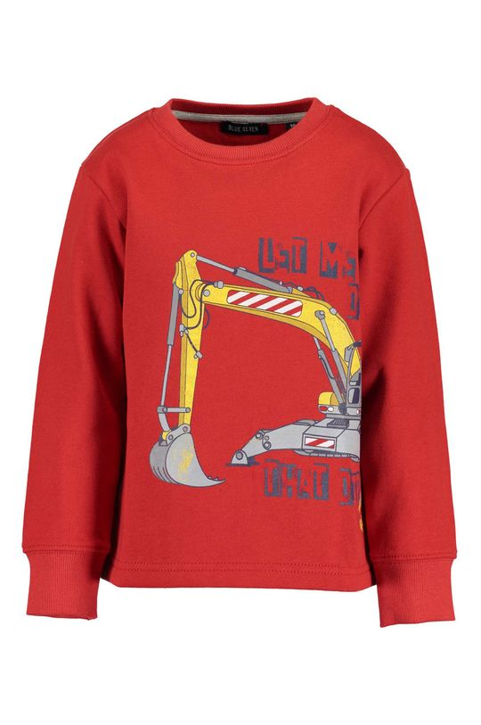 červená Blue Seven - Detské tričko s dlhým rukávom 92-128 cm Chlapčenský