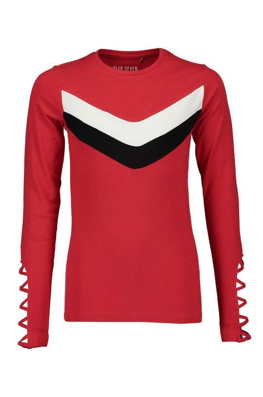 červená Blue Seven - Detské tričko s dlhým rukávom 140-176 cm Dievčenský