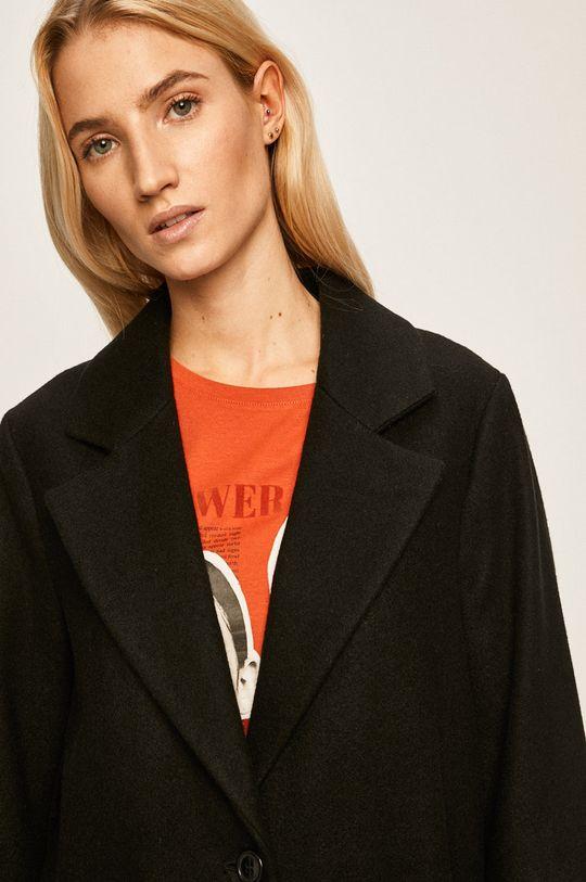 černá Silvian Heach - Kabát