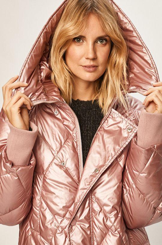 ružová Silvian Heach - Páperová bunda