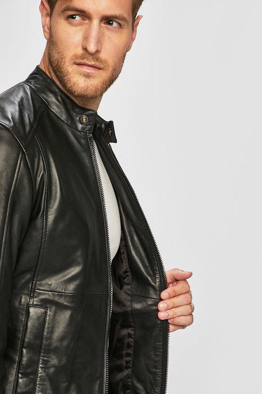 Trussardi Jeans - Kožená bunda Pánský