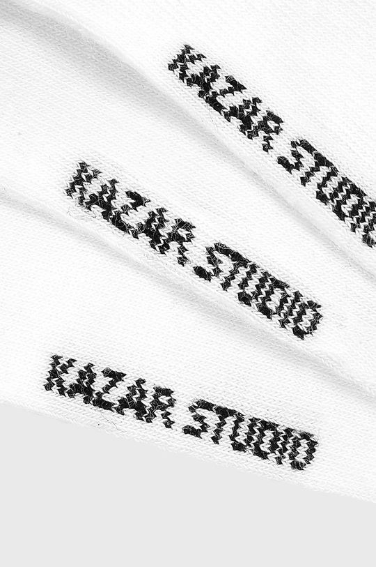 Kazar Studio - Kotníkové ponožky (3-pack) bílá