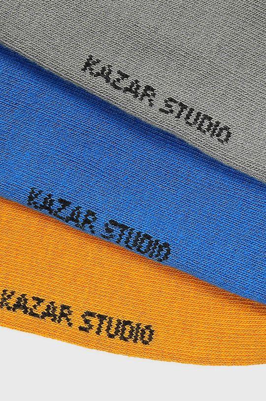 Kazar Studio - Kotníkové ponožky (3-pack) vícebarevná