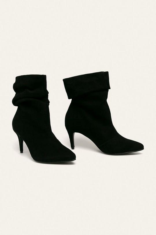 Wojas - Cizme de piele negru