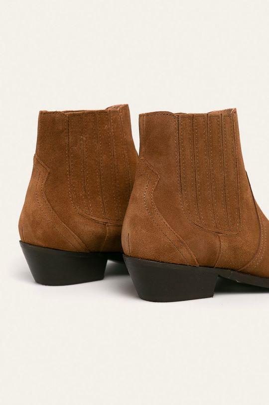 Wojas - Kožené kovbojské boty Svršek: Semišová kůže Vnitřek: Umělá hmota, Přírodní kůže Podrážka: Umělá hmota