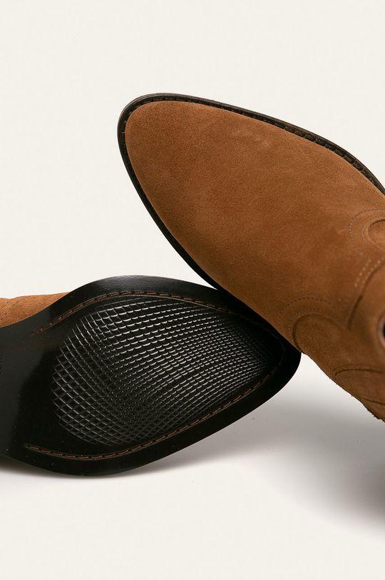 hnědá Wojas - Kožené kovbojské boty