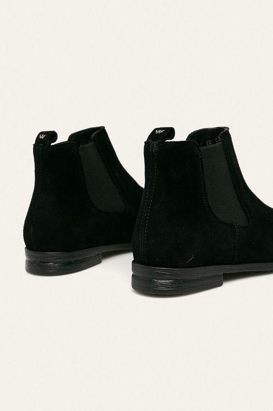 Wojas - Kožené boty s gumou Svršek: Semišová kůže Vnitřek: Textilní materiál, Přírodní kůže Podrážka: Umělá hmota