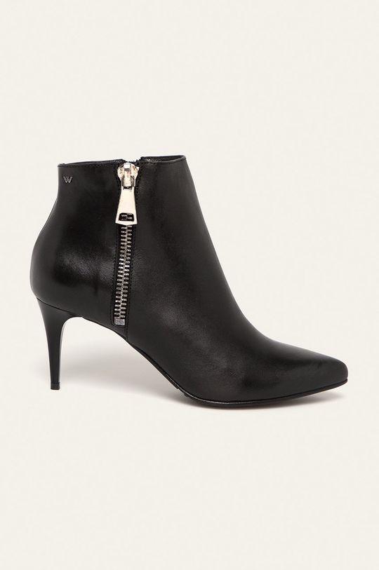 negru Wojas - Cizme de piele De femei