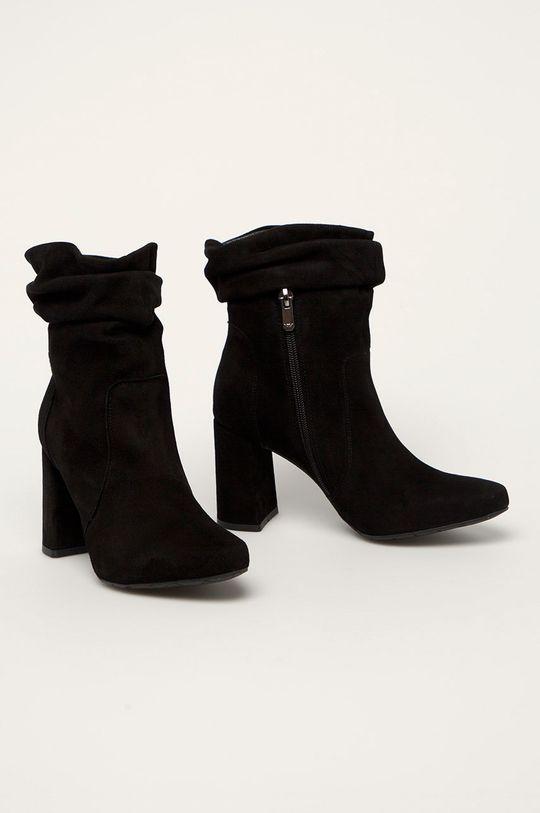 Wojas - Členkové topánky čierna