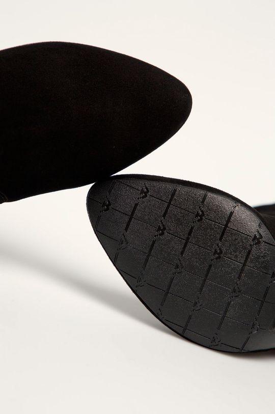 čierna Wojas - Členkové topánky