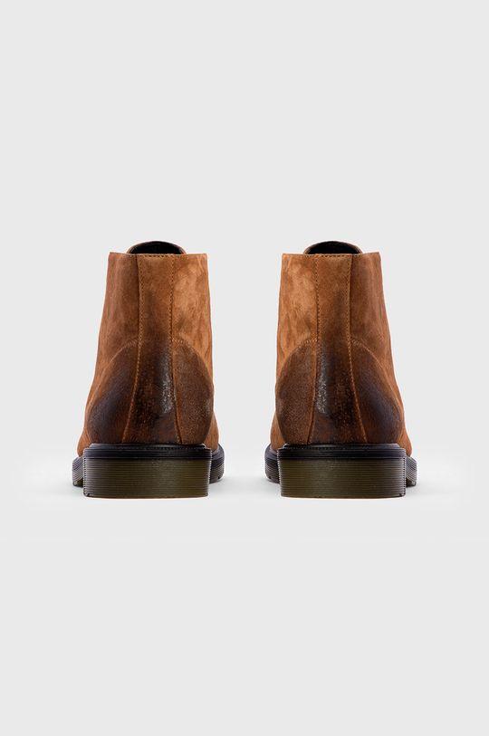 Kazar Studio - Ghete de piele Gamba: Piele naturala Interiorul: Piele naturala Talpa: Material sintetic