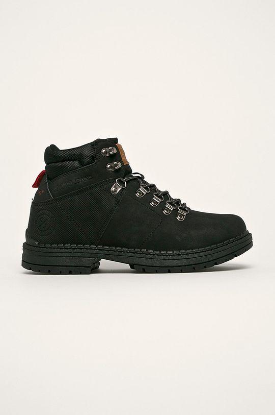 čierna Cross Jeans - Topánky Pánsky