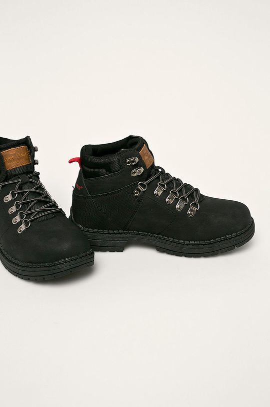 Cross Jeans - Topánky čierna