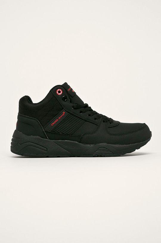 negru Cross Jeans - Pantofi De bărbați