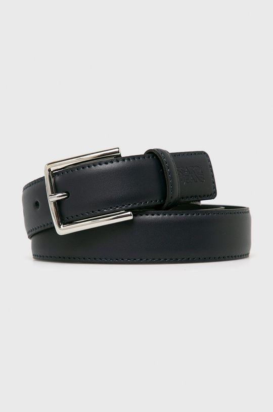 námořnická modř Trussardi Jeans - Kožený pásek Pánský