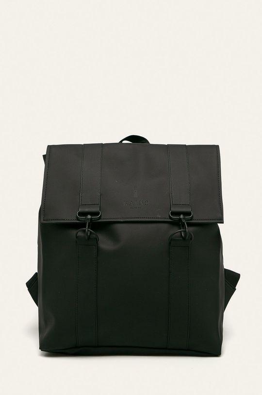 czarny Rains - Plecak 1213 Msn Bag Unisex