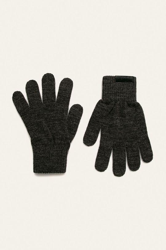 světle šedá Trussardi Jeans - Čepice, šála a rukavice