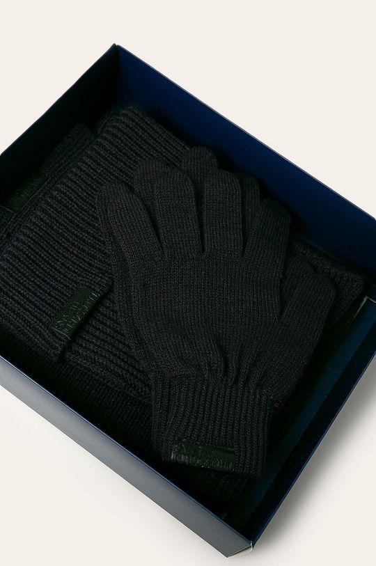 Trussardi Jeans - Čepice, šála a rukavice 38% Akryl, 32% Polyamid, 30% Vlna