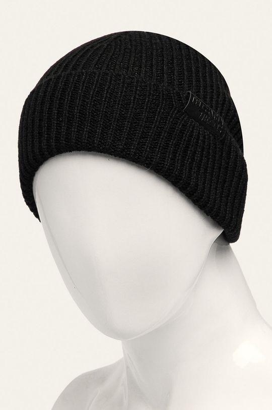 Trussardi Jeans - Czapka, szalik i rękawiczki czarny