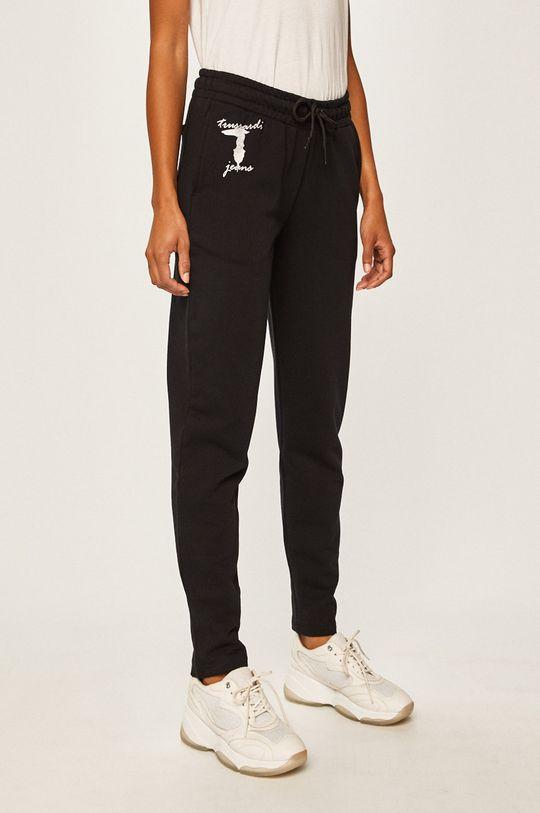 černá Trussardi Jeans - Kalhoty Dámský