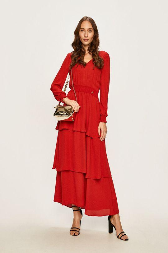 červená Trussardi Jeans - Šaty