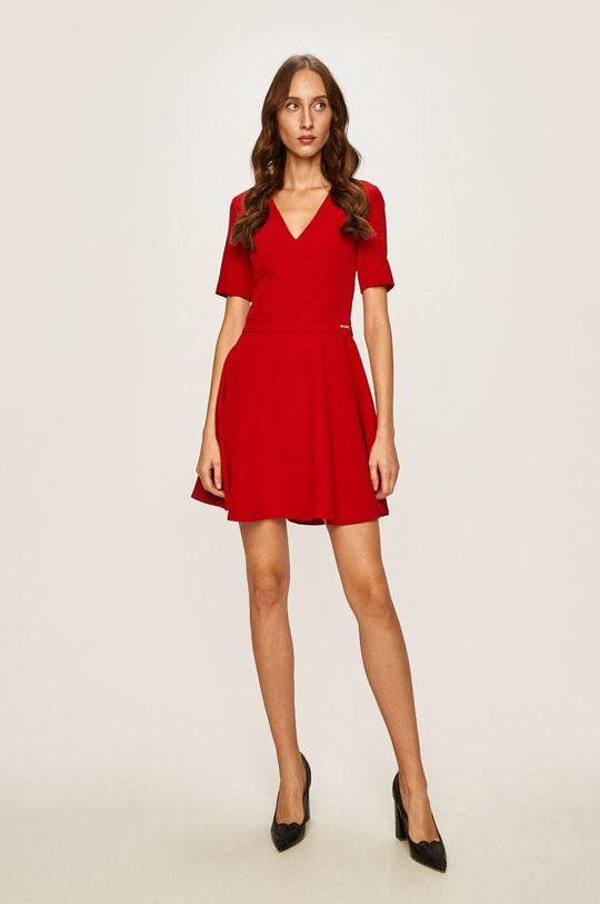 Trussardi Jeans - Šaty červená