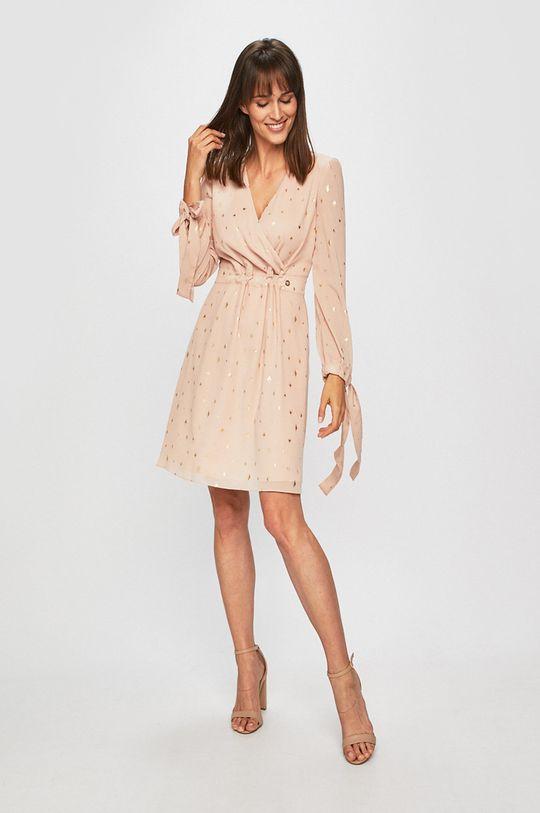 Trussardi Jeans - Šaty pastelově růžová