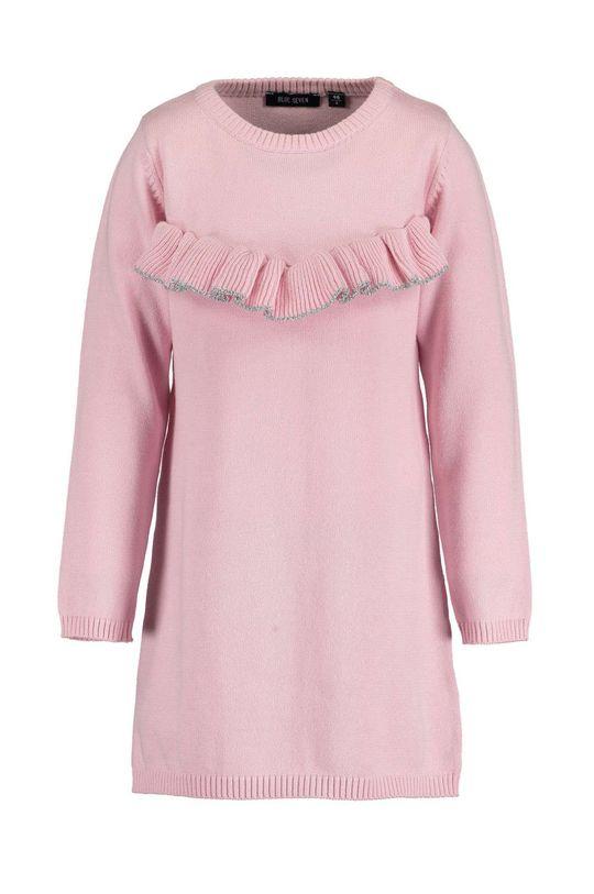 ružová Blue Seven - Dievčenské šaty 92-128 cm Dievčenský