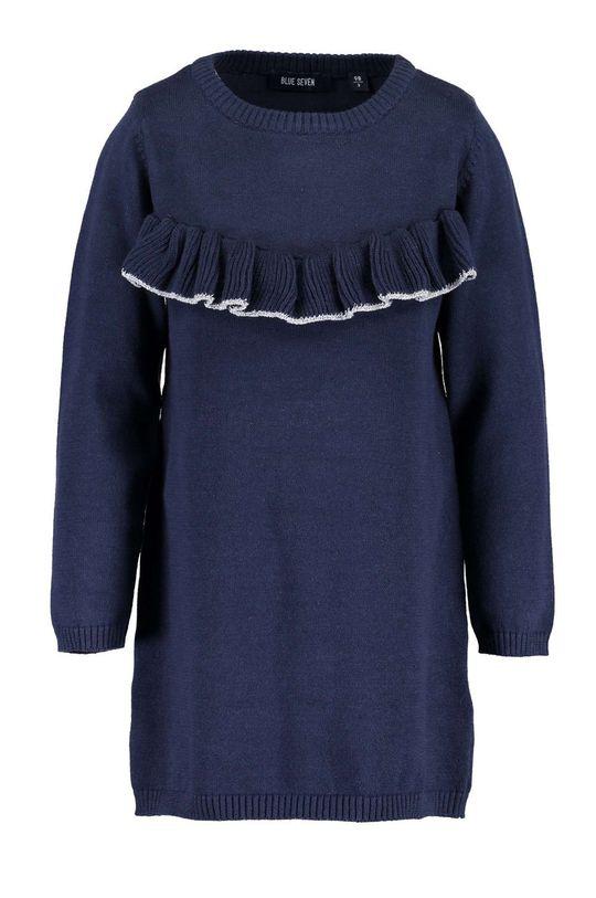 modrá Blue Seven - Dievčenské šaty 92-128 cm Dievčenský