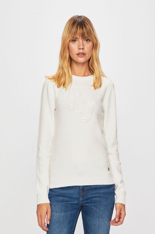 bílá Trussardi Jeans - Svetr Dámský