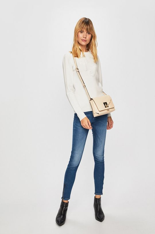 Trussardi Jeans - Svetr bílá