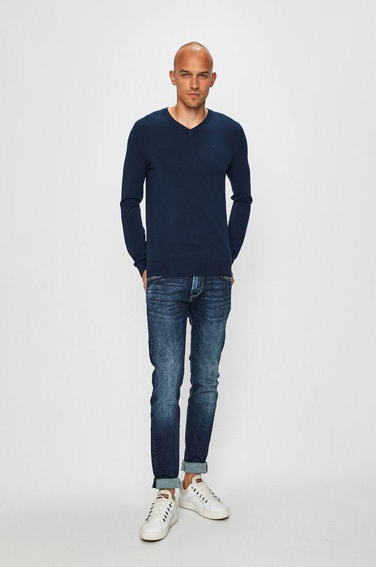 Trussardi Jeans - Svetr námořnická modř