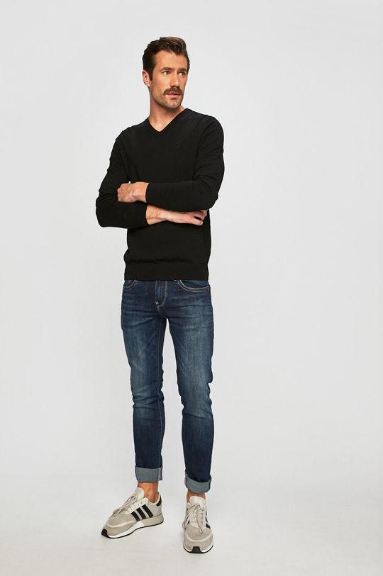 Trussardi Jeans - Sweter czarny