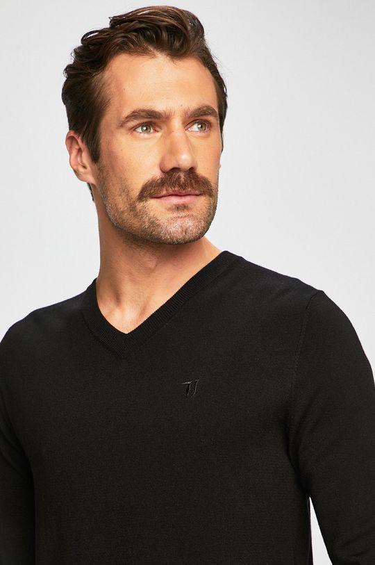 czarny Trussardi Jeans - Sweter