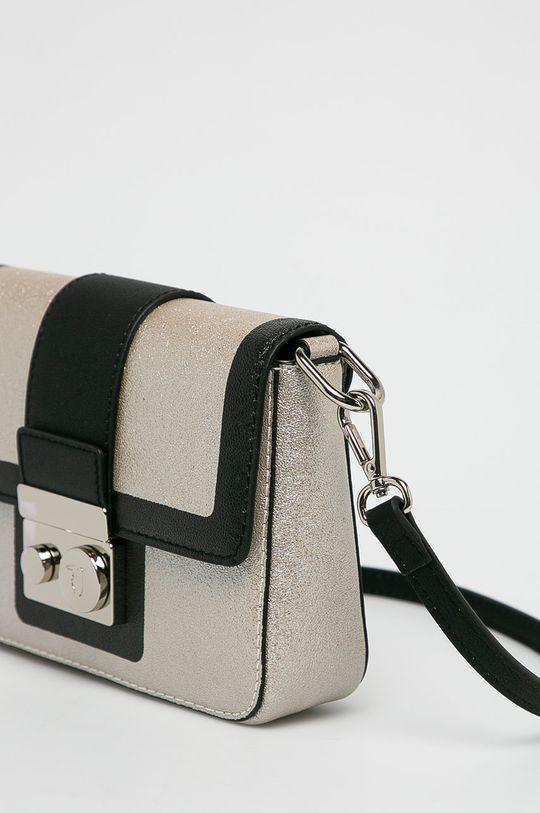 Trussardi Jeans - Kabelka stříbrná