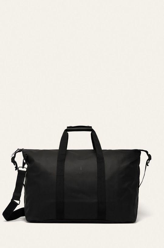 czarny Rains - Torba 1320 Weekend Bag Unisex