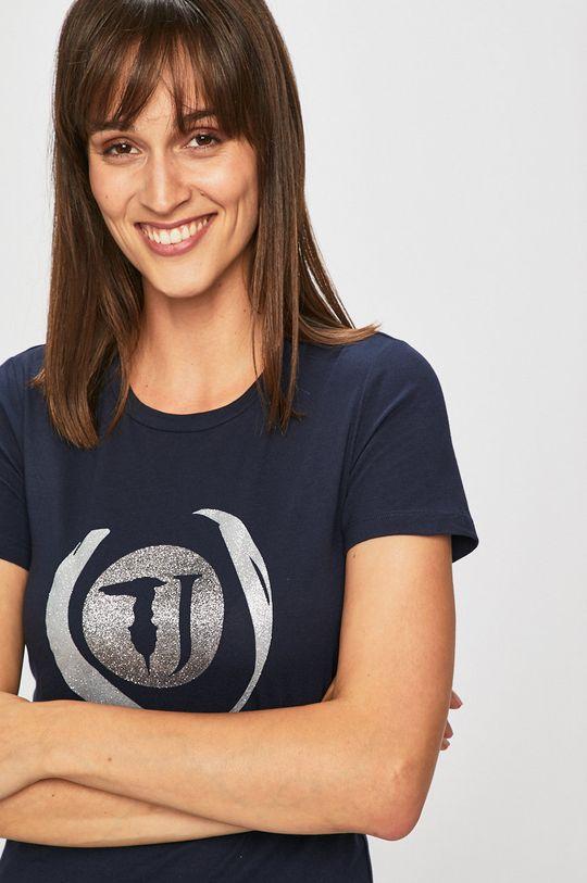 námořnická modř Trussardi Jeans - Tričko